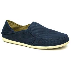 OluKai Womens Waialua Mesh Blue Shoes Size 9.5